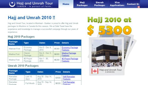 Hajj and Umrah Tour