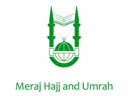 Meraj Hajj and Umrah - Logo
