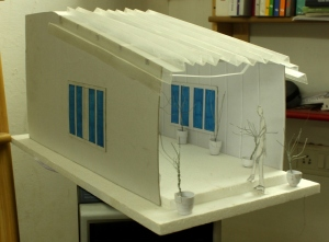 The Passage - Miniature Model of the passage