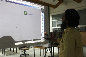 Interaction design with Gesture Recognition - Stop gesture with right hand
