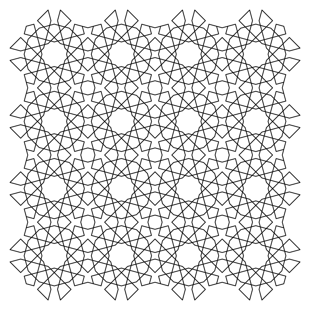 tessellations coloring pages - photo#23