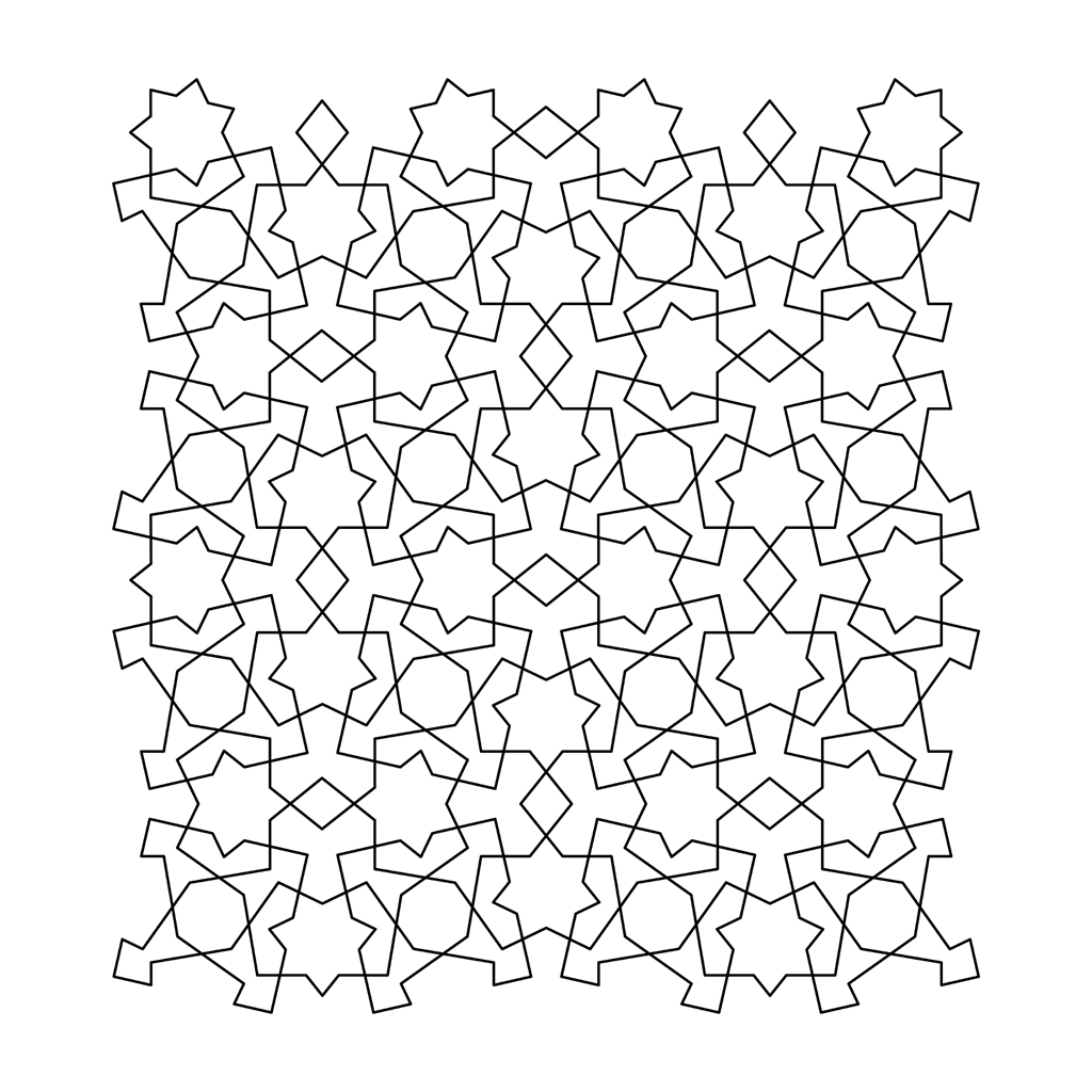 tessellations coloring pages - photo#2