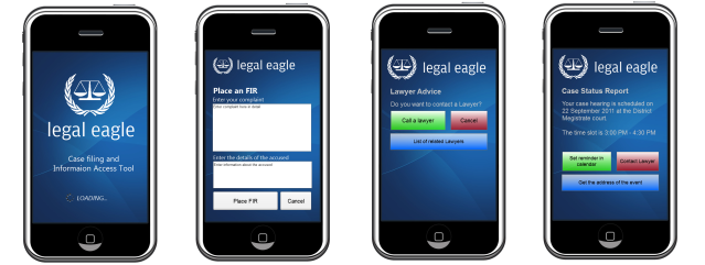 Legal Eagle: Application UI
