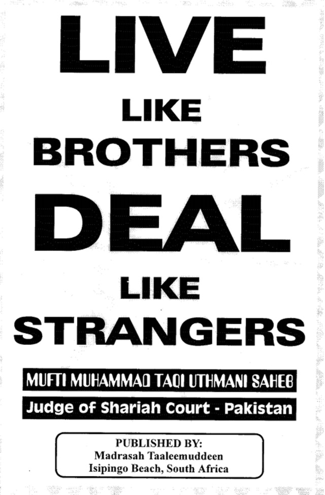 Live-like-brothers,-deal-like-strangers-Page-1